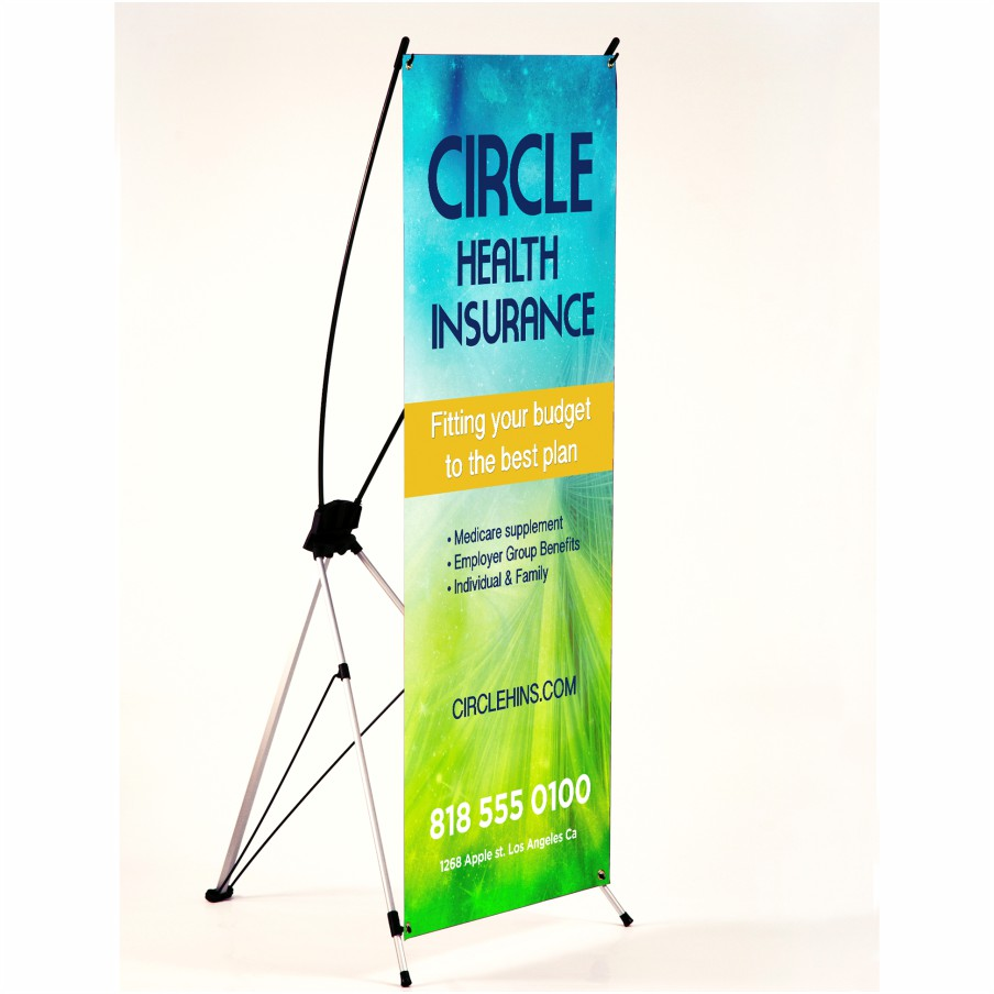 Banner Xframe Printing Wicked Blue Owl Creative Marketing Calgary Alberta Canada