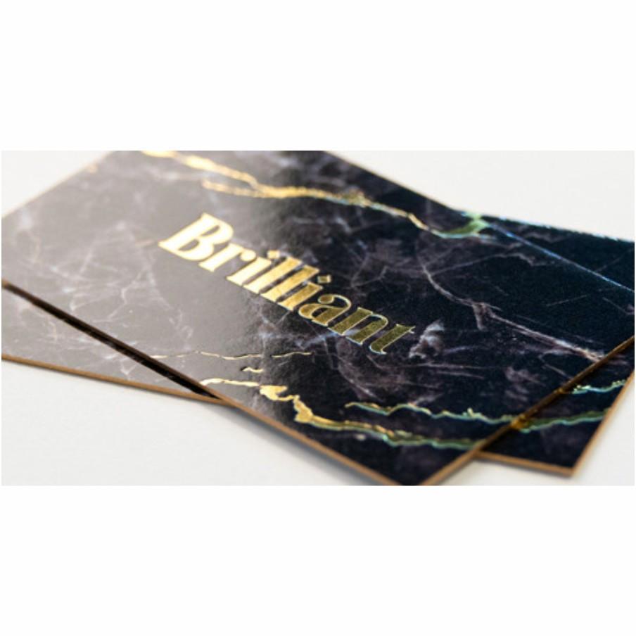 Luxury Business Cards Thick Stock Wicked Blue Owl Creative Marketing Print Calgary Alberta Canada