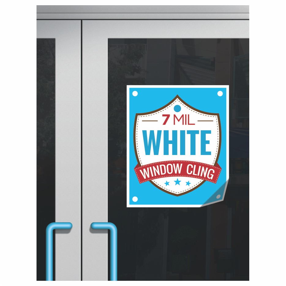 Window Clings Two Printing Wicked Blue Owl Creative Marketing Calgary Alberta Canada